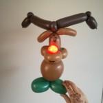 Rudolf met rode neus
